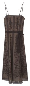 BCBGMAXAZRIA Floral Tea Lace Mesh Dress
