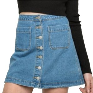 18e74a4837 Women's Blue Brandy Melville Pants, Skirts & Shorts - Up to 90% off ...