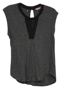 Rebecca Taylor Top Gray, Black