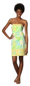 Lilly Pulitzer short dress Classic Strapless on Tradesy