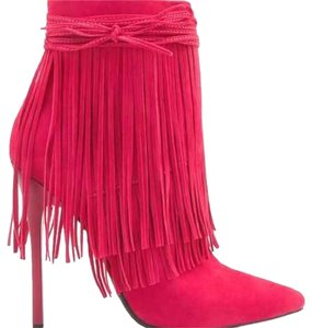 Privileged Fushsia Boots