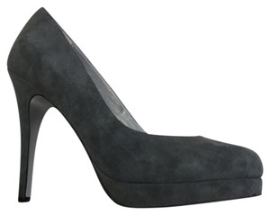 Martinez Valero High Heel Suede grey Pumps