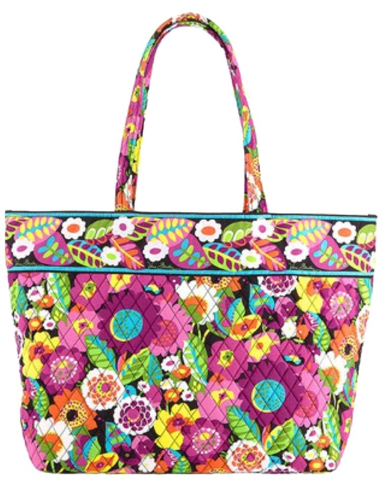 Vera Bradley Grand Purse Handbag Extra. Large Large Large Travel Carry On  Luggage Travel Pattern ace1ad3469b5c