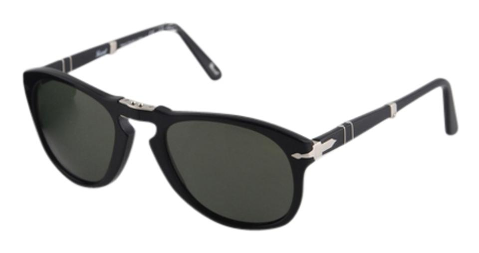 403bc21fe7378 Persol Black Polarized 714 Sunglasses - Tradesy