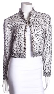 Oscar de la Renta Black & White Jacket