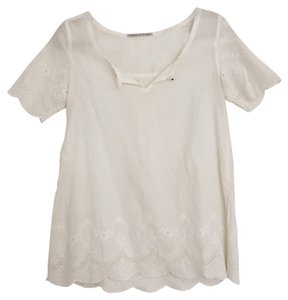 Maison Scotch Top White