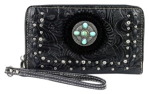Montana West TR21-W003 Trinity Ranch Tooled Design Wallet