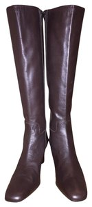 Ralph Lauren Riding Knee-high Brown Boots