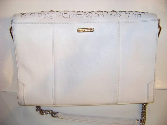 Rebecca Minkoff Leather Perforated Chain Envelope Classic Animal Durable Classy Shoulder Bag Image 2