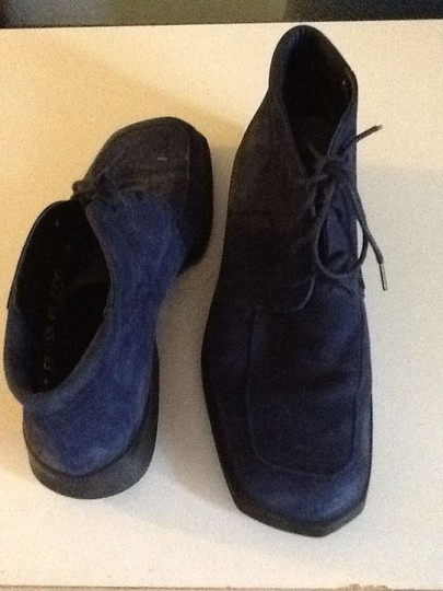Bally Dark Blue Boots