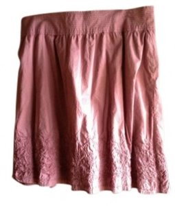 Merona Spring Size 18 Cotton Skirt Lilac Purple