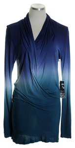Young Fabulous & Broke Knit Draped Dip Dye Tunic