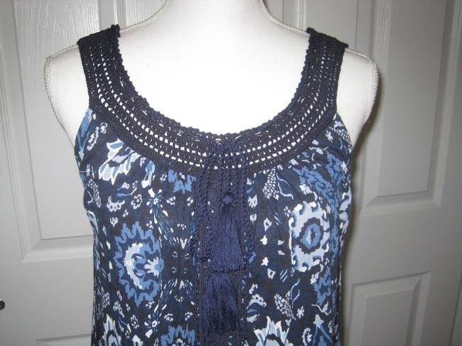 Lucky Brand Top Blue Multi Image 3