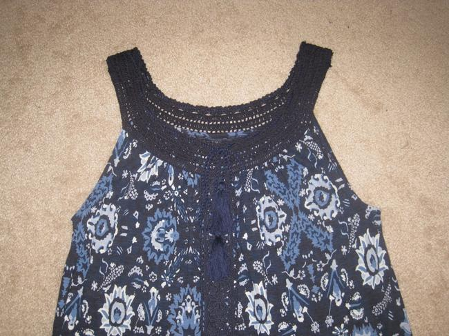 Lucky Brand Top Blue Multi Image 9