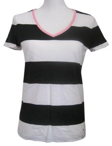 Ralph Lauren T Shirt Black and White Stripes