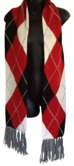 Preload https://item2.tradesy.com/images/new-york-and-company-red-black-and-white-argyle-scarfwrap-149941-0-0.jpg?width=440&height=440