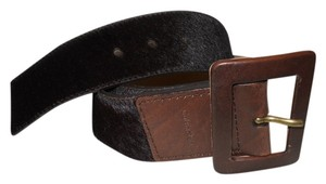 Calvin Klein Calvin Klein leather & cowhide belt