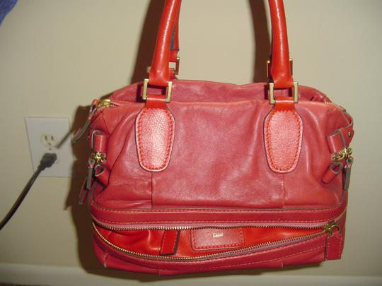 Chloé Satchel in Pink/Berry