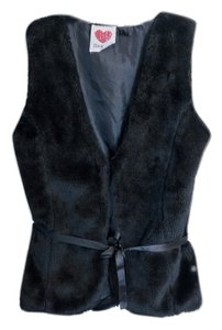 Derek Heart Faux Fur Vest