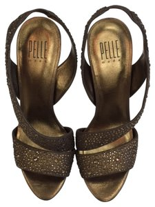 Pelle Moda High Heel Sandals Sandals Evening Bronze Formal