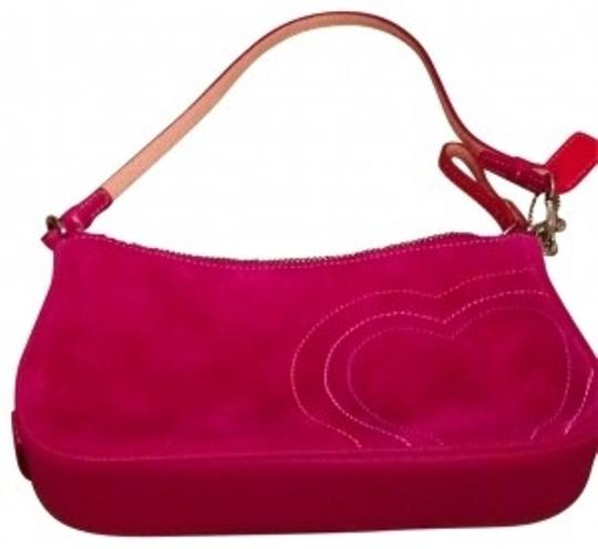 Preload https://item1.tradesy.com/images/coach-never-used-pink-suede-wristlet-149950-0-0.jpg?width=440&height=440