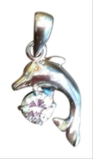 Preload https://item3.tradesy.com/images/boutique-silver-dolphin-with-cz-pendant-1499507-0-0.jpg?width=440&height=440