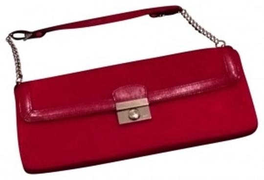 Preload https://item3.tradesy.com/images/coach-handbag-red-suede-and-leather-clutch-149952-0-0.jpg?width=440&height=440