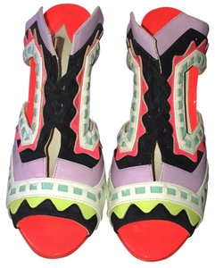 Sophia Webster Multi color Mules