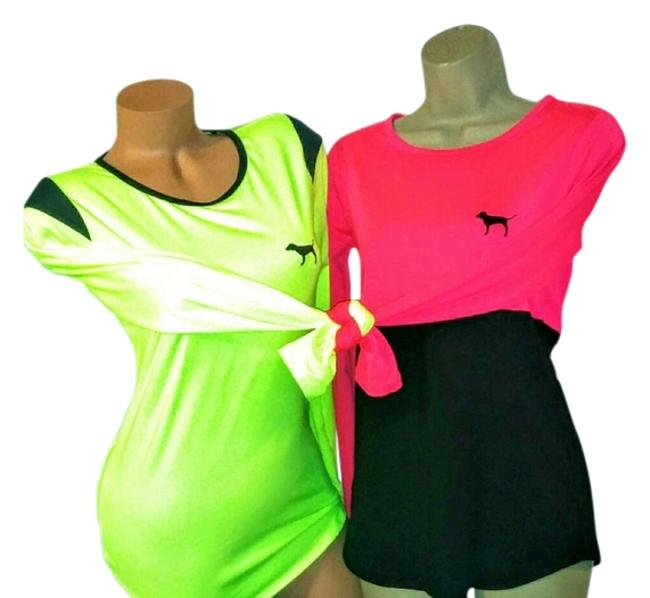 Item - Pink & Yellow #ultimate #vs Activewear Top Size 8 (M, 29, 30)