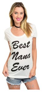 Other Wildfox Couture Graphic Tee Plus Size Curvy Funny T Shirt White