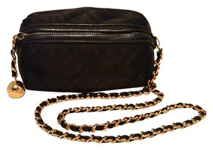 Chanel Satin Pouch Shoulder Bag