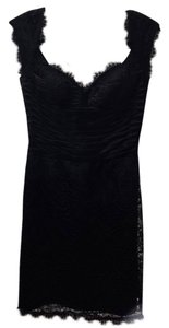 Unknown Satin Lace Chic Classic Sexy Dress