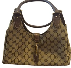 Gucci Satchel in Light Beige And Brown