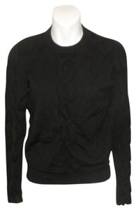 Karen Millen Braided Crewneck Sweater
