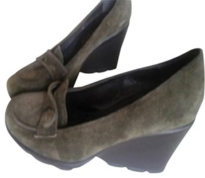 Anne Klein Green Wedges