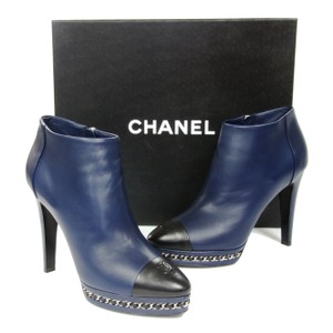Chanel Espadrille Graffiti Le Boy Blue Boots