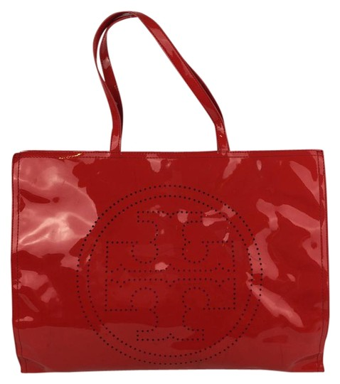 Preload https://item2.tradesy.com/images/tory-burch-perforated-red-vinyl-tote-1499746-0-2.jpg?width=440&height=440
