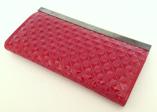 Vintage Red Clutch Image 3