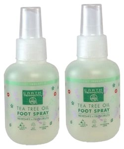 Earth Therapeutics Two Tea Tree Oil Foot Sprays ~ New ~ Refreshing/Soothing Love This Stuff!
