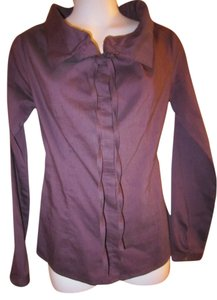 Sisley Button Down Shirt Purple