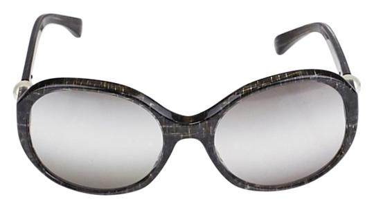 d8a9cc9e38 Black Chanel Sunglasses With Pearls