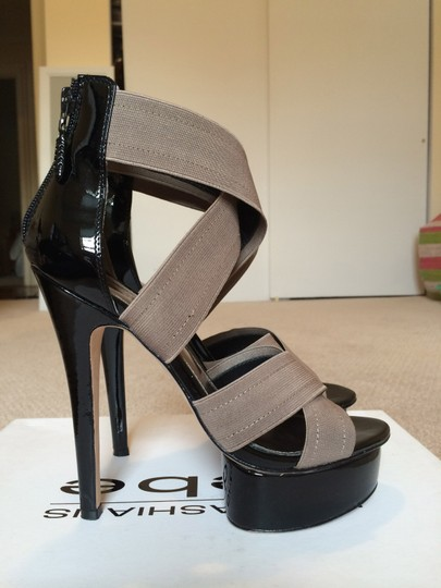 bebe Grey Taupe Sandals