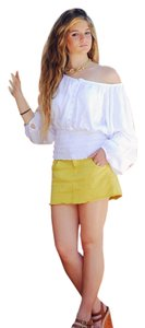 Lirome Summer Cozy Resort Top White
