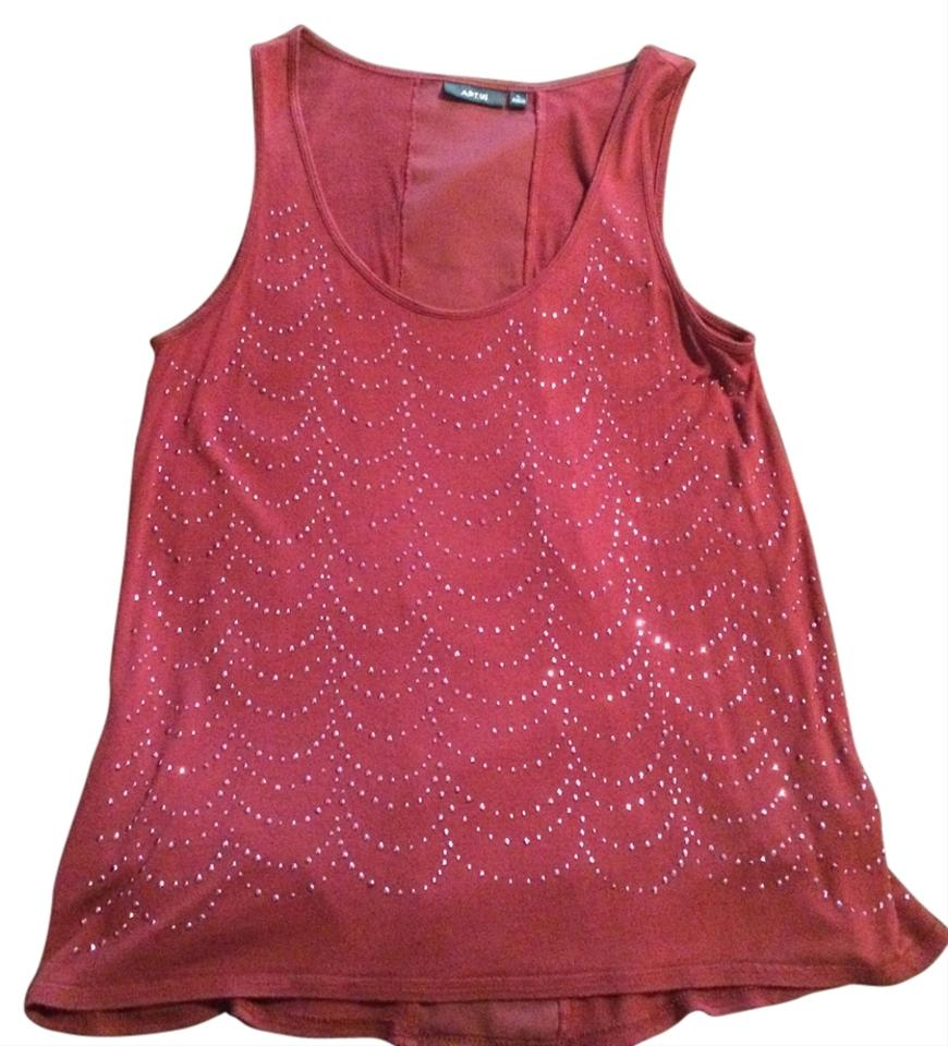 Apt. 9 Top Burgundy - 68% Off Retail