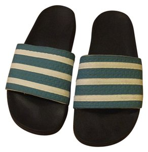 adidas Black and blue Sandals
