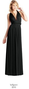 Twobirds Black Ballgown Dress