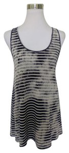 Element Pinafore Tie Dye Tunic Top Black White