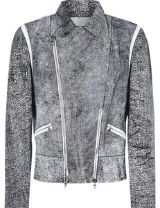 3.1 Phillip Lim Couture Vintage Iconic Leather Motorcycle Jacket