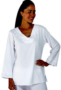 Lirome Embroidered Resort Summer Vacation Tunic