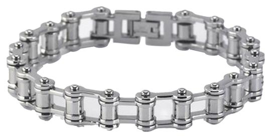Other Unique Edgy Designer Stainless Steel Bicycle Chain Bracelet